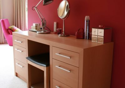 Contemporary Beech Dressing Table - IMG_3068