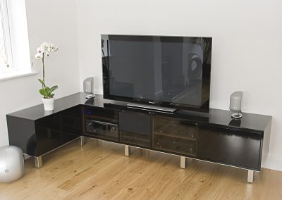 HIgh Gloss Black Entertainment unit3