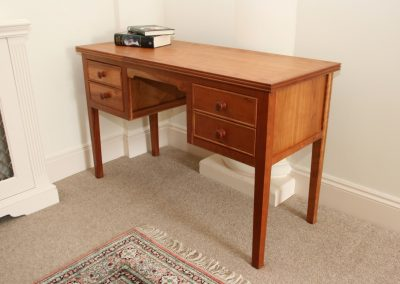 Solid Cherry Dressing Table Desk