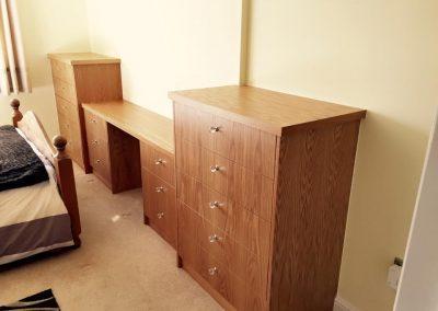 Handmade Desk & Cabinet