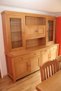 handmade furniture bedford oak dresser